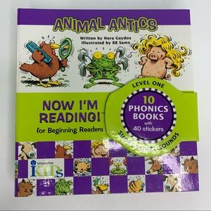 NOW I'm READING for Beginners 10 Books 40 Stickers